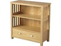 ashmore 1 drawer bookcase