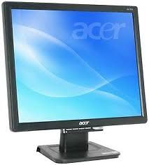 17 INCH ACER AL1716 LCD FLAT SCREEN MONITOR