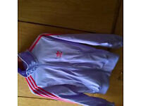 Adidas women track top/jackets