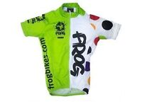 BRAND NEW: Frog Cycle Jersey - Age 11-12
