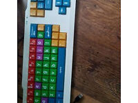 Large childrens learning pc keyboard