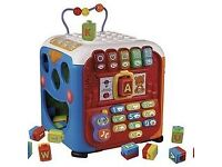 VTech Baby Infant Discovery Cube - Used