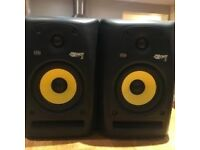 KRK ROKIT 5 G2 Studio Monitors W/ Cables - Pair