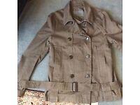 ALL SAINTS Mens Military Pea Coat Jacket, Size 40 (L)