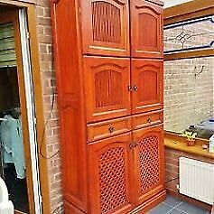 solid wood kitchen / dining room storage cabinet height 220cms delivery available