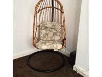 Vintage original bamboo/cane chair