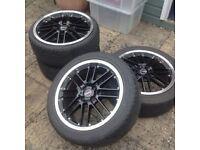 Borbet Racing 17' deep dish alloy