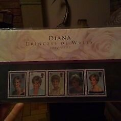 Diana Princess of Wales Royal Mail Mint Stamp