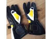 Motorcycle sport gloves size L