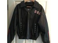 USA leather Jacket small