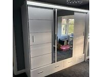 SAME/NEXT DAY DELIVERY AVAILABLE ** SYCYLIA WARDROBES ** AVAILABLE IN DIFFERENT SIZES & COLORS