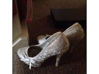Quiz Gorgeous Silver shoes