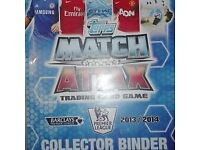 Match attack 2013/2014 collectors binder.make me a offer