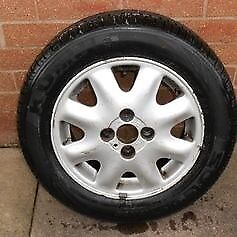 Vauxhall Belmont Tiffany Alloy Wheel with New Tyre
