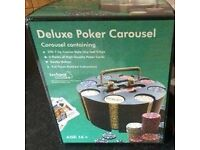 Deluxe Poker chips carousel by jackpot Games. still boxed