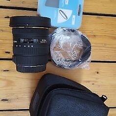 Sigma lens 10-20mm EX canon mount