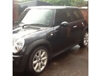 2006 MINI ONE SEVEN 56 PLATE ONLY 34-000 MILES FULL LOGBOOK 10 MONTHS MOT HALF LEATHER INTERIOR