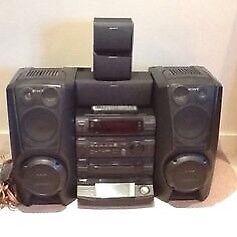 Sony XB8AV Hi Fi Stereo System