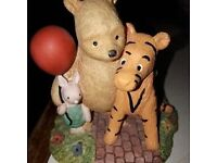 Pooh & Piglet and Tigger With Balloon Figure.