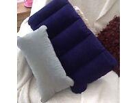 Pair of camping pillows