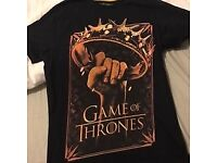 Brand New Official Game of Thrones HBO T-Shirt, Medium
