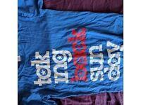 Taking Back Sunday blue tshirt, size S