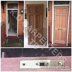 CARPENTER SPECIALISING IN DOOR FITTING WE ALSO CARRY OUT ALL ASPECTS OF CARPENTRY WORK