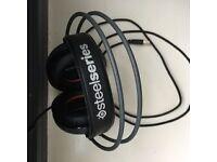 SteelSeries Orange & Black Siberia Headset