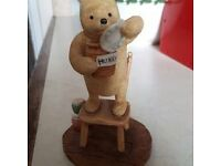 Classic Pooh Standing On A Chair Figure