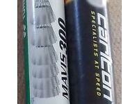 Badminton Nylon Shuttlecocks, 2 Tubes