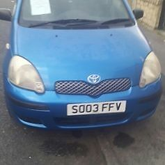 toyota yaris 1.4 diesel very good condition
