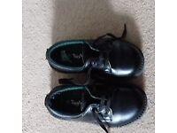 Toughees LEATHER Clerk School Shoe size 9