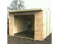 Field shelter/shed /storage