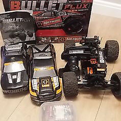 offers or swaps rc hpi bullet flux rapid wheelies for fun
