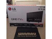 "LG 43"" 4K Ultra HD TV (New) Bargain!!!"