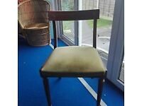 Emergency Chairs ! Set of 4 Excellent condition and quality.