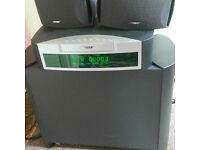 Bose av 3-2-1 dvd/cd system