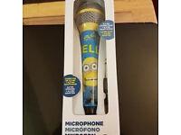 Mininons mircophone
