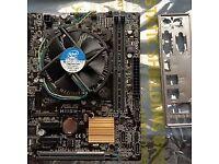 ASUS H110M-R motherboard and Skylake CPU