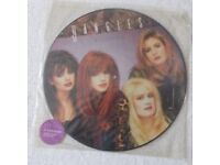 two '80s picture disc records