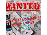 Cash Paid for Mobile Phones, Ipads etc