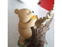 Pooh With Bees Figure