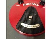 Dunlop Original Vintage Reissue Fuzz Face JHF2 (Dallas Arbiter England / (2) NKT-275 / Very Rare!)