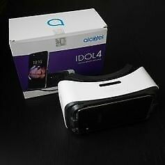 It is brand new. Its a VR headset for the Alcatel idol 4