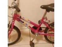 Girls Raleigh Krush Bike Excellent Condition