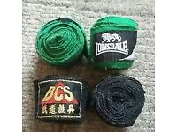 2 pairs of hand wraps for boxing/Muay Thai
