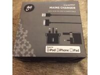 Goji Mains Charger (30 Pin) Iphone 4/Ipods