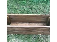 3ft Wooden Decking Flower Planter Box