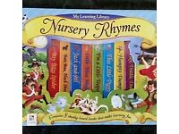 NURSEY RHYMES 8 BOOK BOX SET - BRAND NEW & SEALED