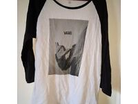 Vans tshirt Size M